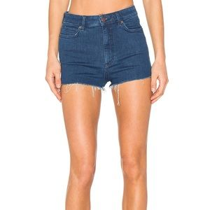Free People High & Tight Cut Off Shorts